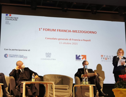 I'm Ok présent au lancement du Forum France-Mezzogiorno